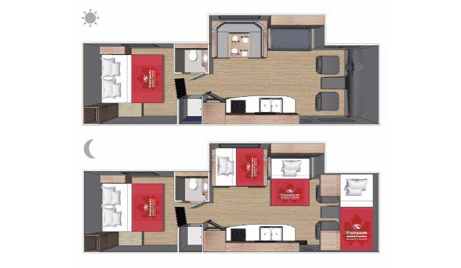 Fraserway C-XLarge Floor Plan