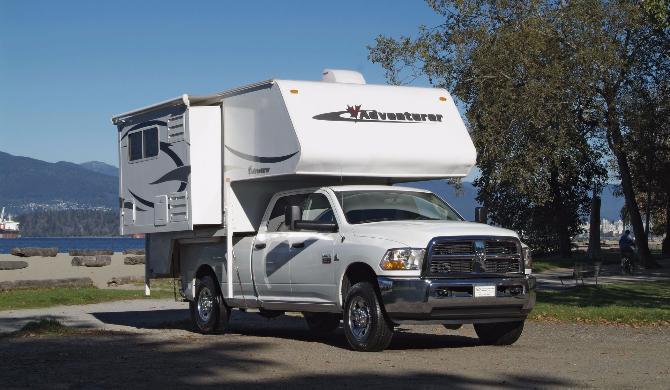 Truck Camper Fraserway Slide out exterior