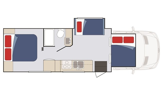 Star Tucana Floorplan - Night