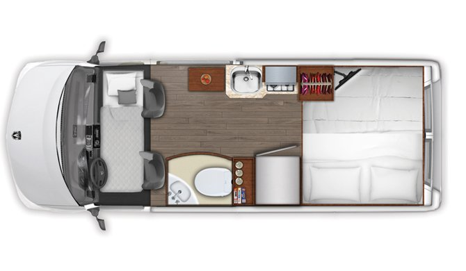 Apollo Tourer Amerika floorplan night
