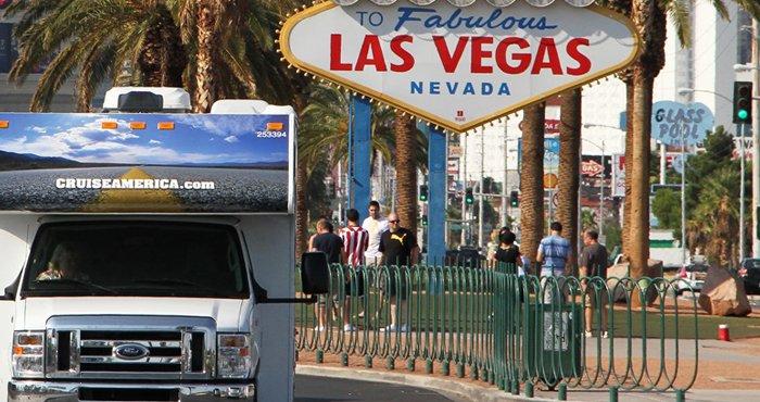 Ontdek het Westen van Amerika en haal de camper op in Las Vegas