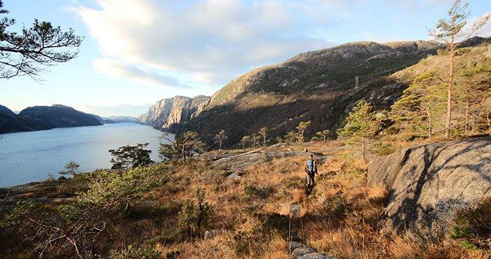 Fjorden Scandinavië