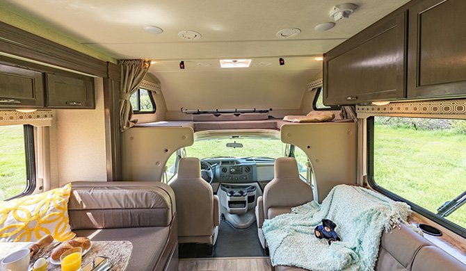 RoadBear C28-30ft interior