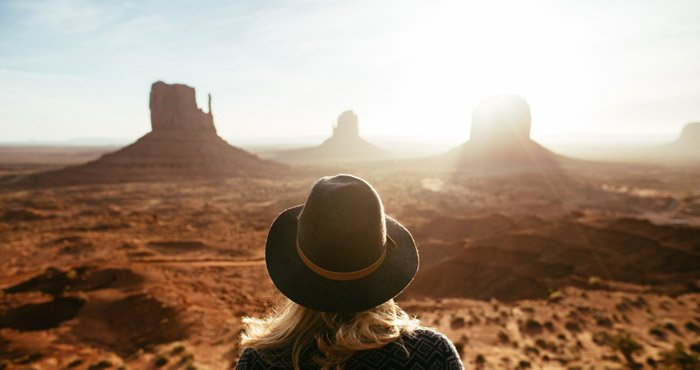 Lady Monument Valley