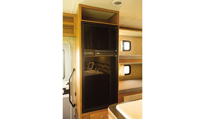 APUS Eclipse Camper interior