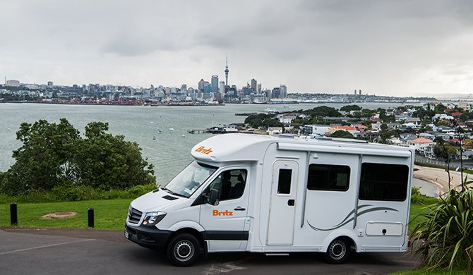 Britz NZ Discovery Exterior