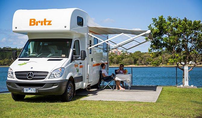Britz NZ Vista interior