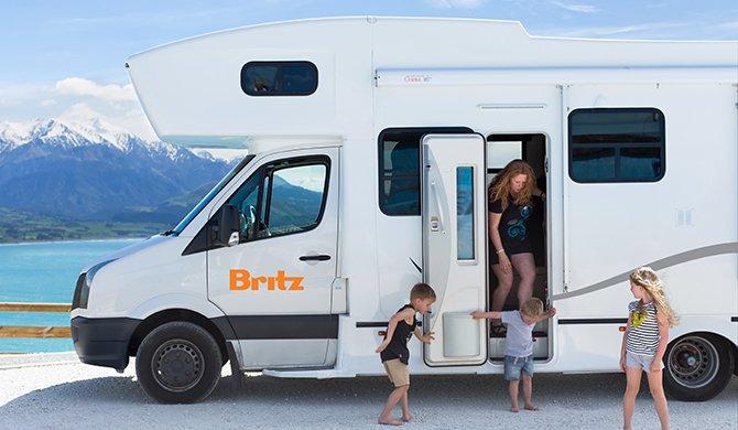 Britz NZ Frontier interior