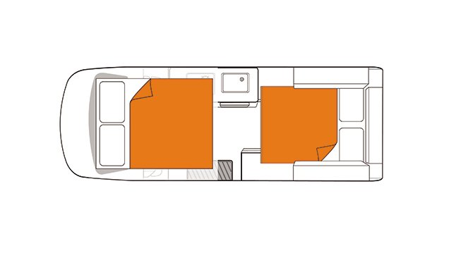 Britz NZ Voyager Floorplan