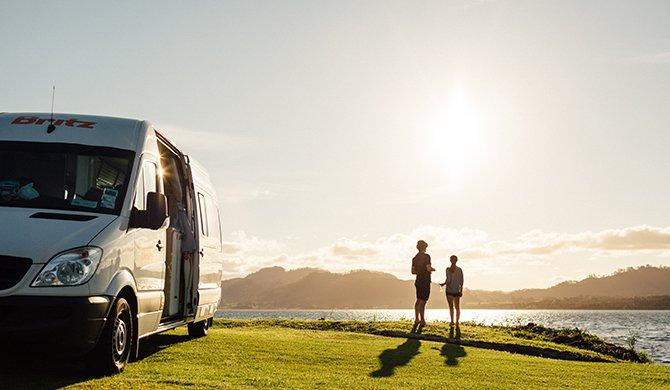 Britz NZ Venturer Plus Interior