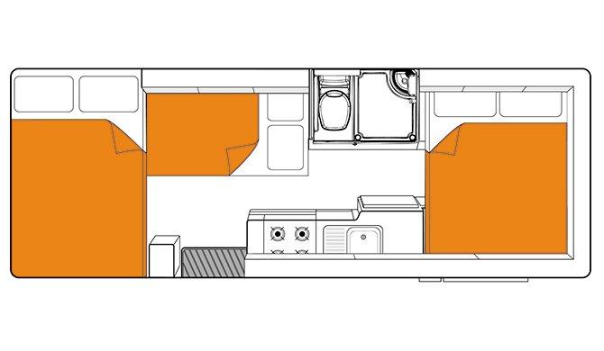 Britz AU Frontier floorplan