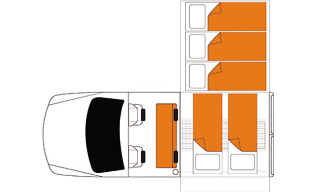 Britz AU Safari floorplan