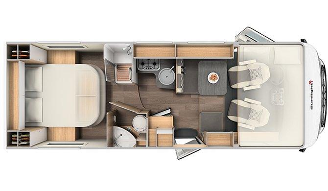 MRNL comfort luxury floorplan