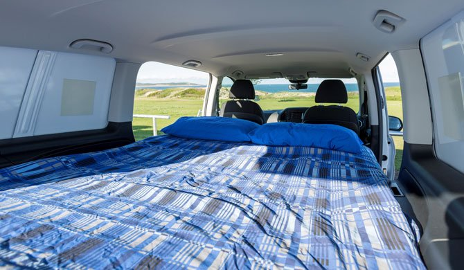 Apollo New Zealand Vivid camper Interior