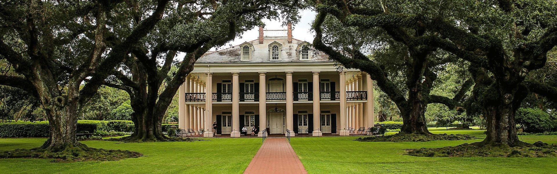Louisiana Oak Alley plantation