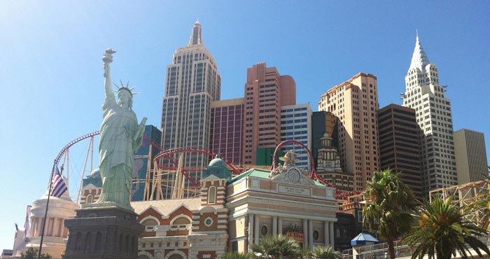 Bezoek Las Vegas tijdens een camperreis door West Amerika met Victoria CamperHolidays