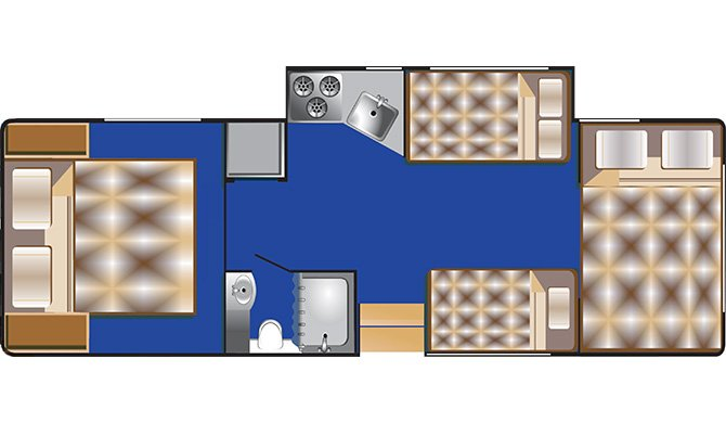 RoadBear 2830Ft floorplan
