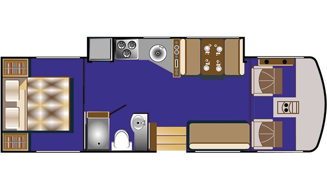 RoadBear A30-32 floorplan