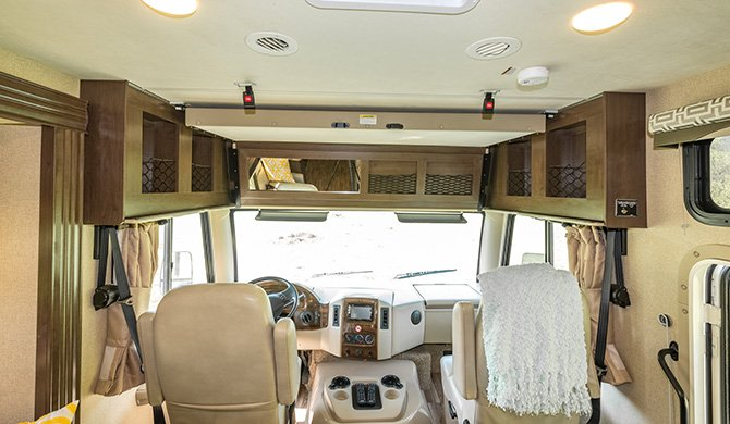 RoadBear A30-32 interieur