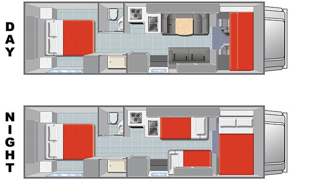Mighty M28 floorplan
