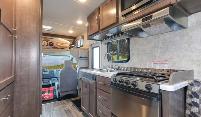 Fraserway C-Small Motorhome Interior