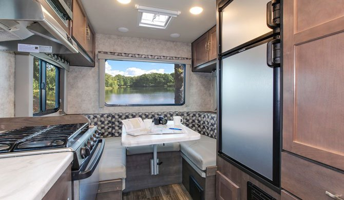 Fraserway C-Small Interior Camper