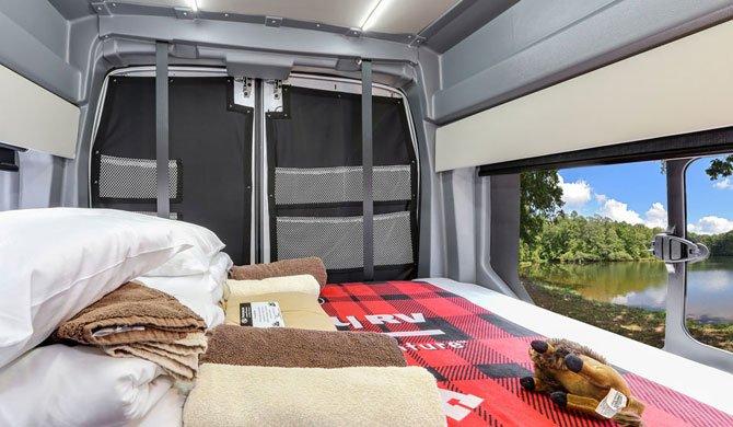 Fraserway Van Conversion interior