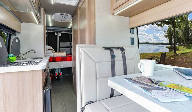 Fraserway Van Conversion interior