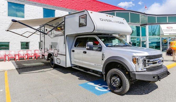 Ga op camperreis door Canada in de Fraserway Overlander camper