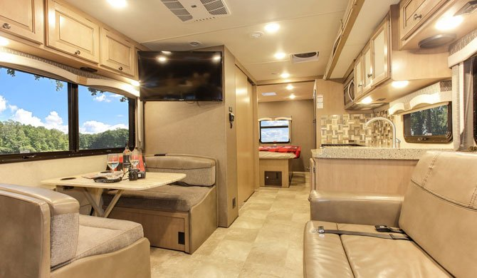 Fraserway A Luxury Camper inerior