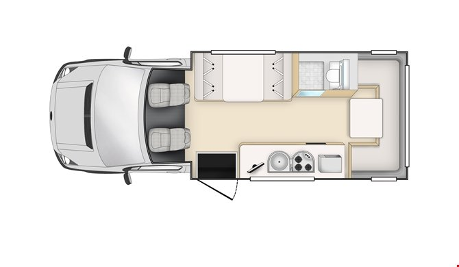 Cheapa Campa 6Berth Floorplan Day