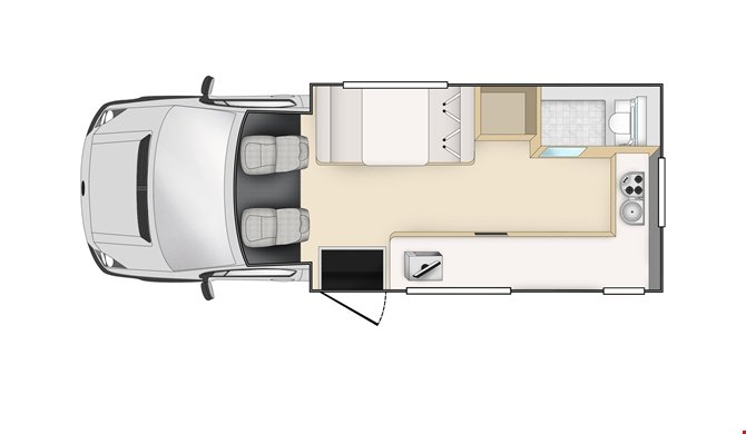 Cheapa Campa 4Berth Floorplan Day