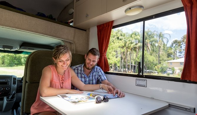 Cheapa Campa 4Berth interieur