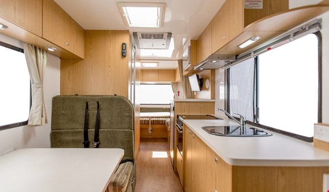 Apollo Australia Euro Camper internal