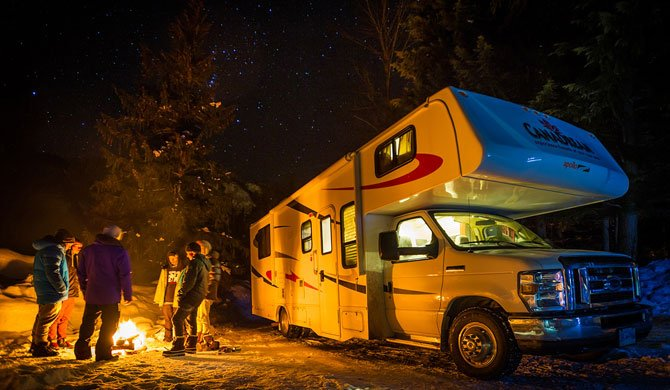 Campervakanties in de winter in Canada met de CanaDream MHA