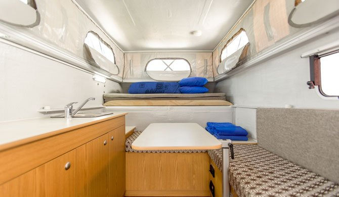 Cheapa Campa 4WD Interieur