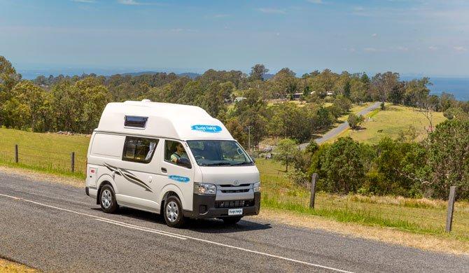 Op camperreis door Australië in de Cheapa Campa Endeavour camper