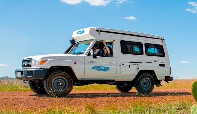 Cheapa Campa Trailfinder Exterieur