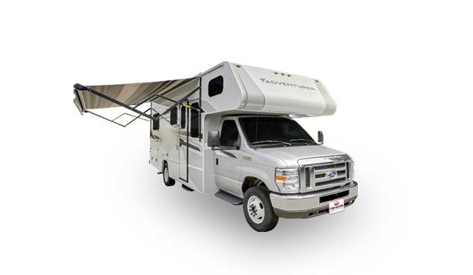 Met de Four Seasons C-Large camper op camperreis door Canada