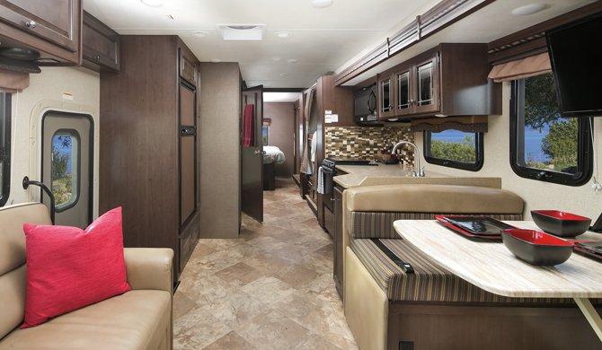 Mighty MA34 Interior