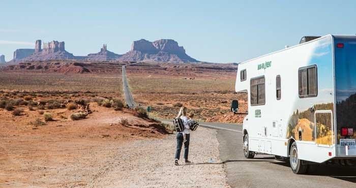 Ontdek Monument Valley tijdens een campervakantie door Amerika met Cruise America