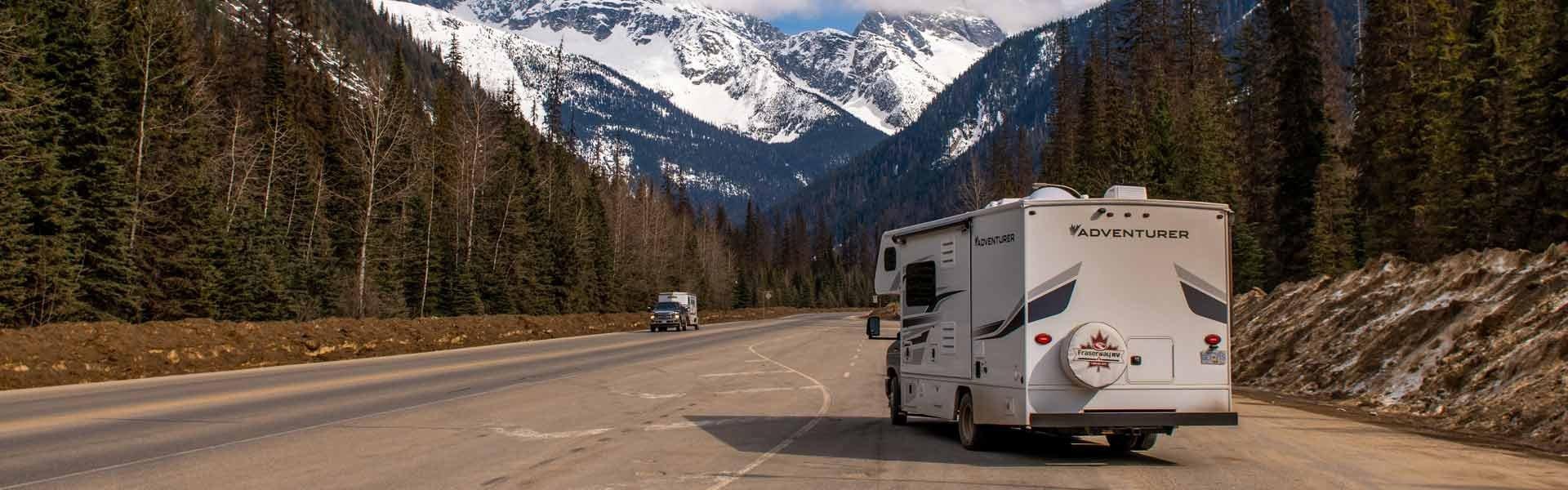 Ontdek de Yukon tijdens een campervakantie met een camper van Fraserway