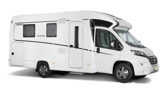 McRent Comfort Plus camper