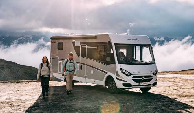 Op camperreis door Europa in de McRent Comfort Luxury camper