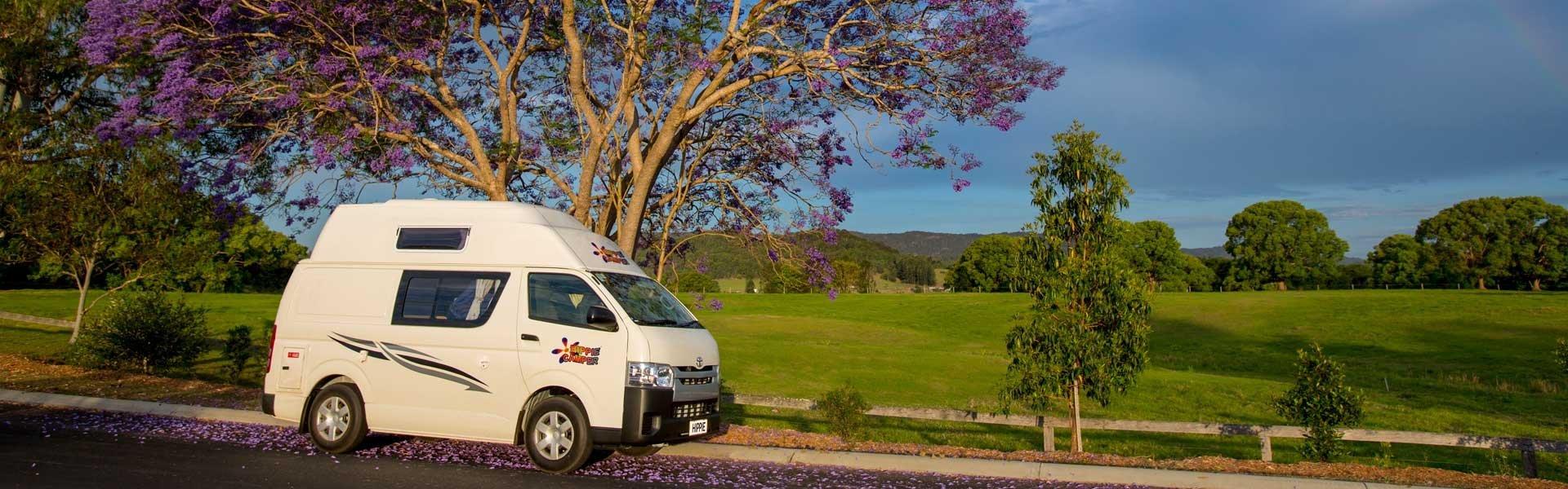 Boek een camper van Hippie en ontdek Nieuw-Zeeland