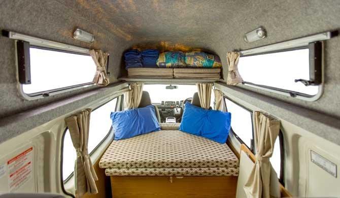 De compacte Hippie Endeavour camper