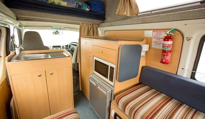 Interieur Hippie Hitop camper