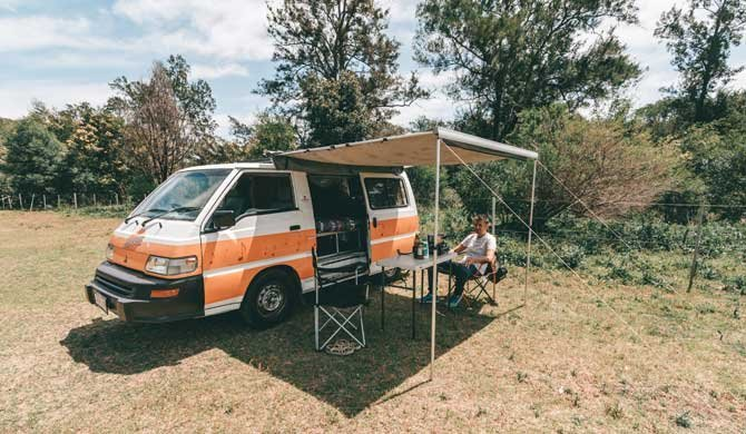 Met de Hippie Drift camper op camperreis door Australië