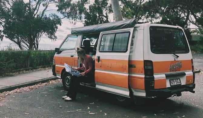 Op camperreis door Australië in de Hippie Drift camper