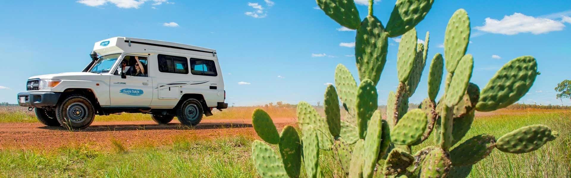 Ontdek Australië tijdens een camperreis met Cheapa Campa Australië